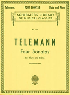 Telemann, G.P. - Four Sonatas - FLUTISTRY BOSTON