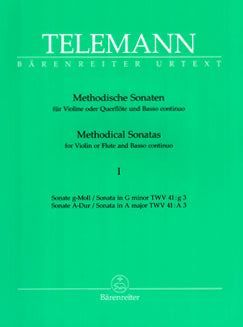 Telemann, G.P. - Methodical Sonatas - FLUTISTRY BOSTON