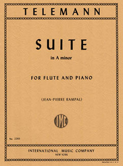Telemann, G.P. - Suite in A minor - FLUTISTRY BOSTON