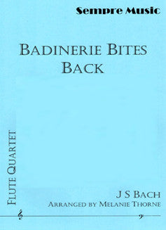 Bach, J.S. - Badinerie Bites Back - FLUTISTRY BOSTON