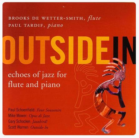 Outside: Echoes of Jazz for Flute and Piano (Brooks de Wetter-Smith)