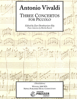 Vivaldi, A. -  Three Concertos for Piccolo - FLUTISTRY BOSTON