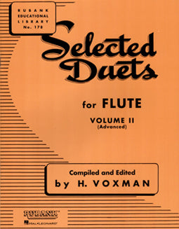 Voxman, H. - Selected Duets for Flute Vol. II - FLUTISTRY BOSTON