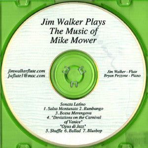 Jim Walker Plays The Music of Mike Mower CD (Jim Walker)