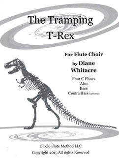 Whitacre, D. - The Tramping T-Rex - FLUTISTRY BOSTON