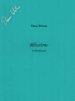 Wilson, D. - Allusions - FLUTISTRY BOSTON