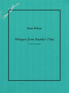 Wilson, D. - Whispers from Another Time - FLUTISTRY BOSTON