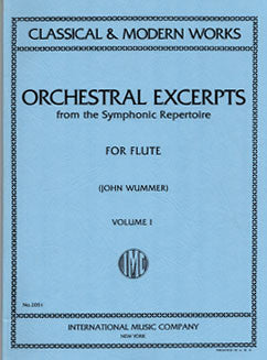 Orchestral Excerpts from the Symphonic Repertoire - Vol 1