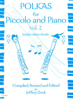Polkas for Piccolo and Piano - Vol. 2 - FLUTISTRY BOSTON