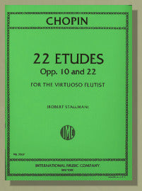 Chopin, F. - 22 Etudes for the Virtuoso Flutist