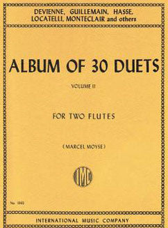 Album of 30 Duets: Vol. II - FLUTISTRY BOSTON