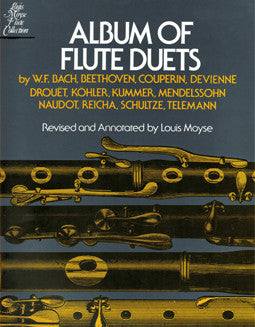 Album of Flute Duets - FLUTISTRY BOSTON
