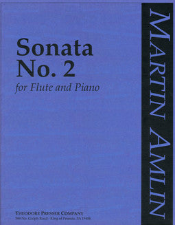 Amlin, Martin - Sonata No. 2 - FLUTISTRY BOSTON