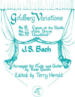 Bach, J.S. - Goldberg Variations - FLUTISTRY BOSTON