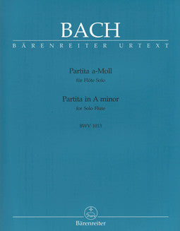 Bach, J.S. - Partita in A minor - FLUTISTRY BOSTON