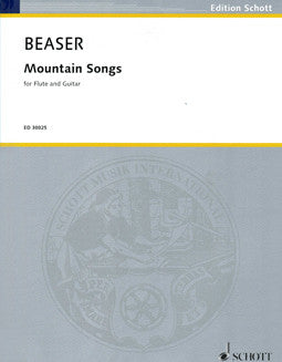 Beaser, R. - Mountain Songs - FLUTISTRY BOSTON