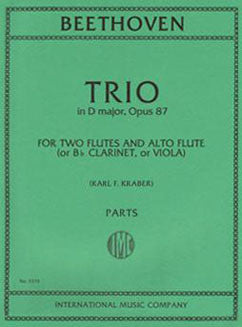 Beethoven, L. - Trio in D major, Op. 87