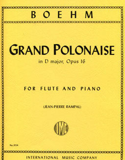 Boehm, T. - Grand Polonaise - FLUTISTRY BOSTON
