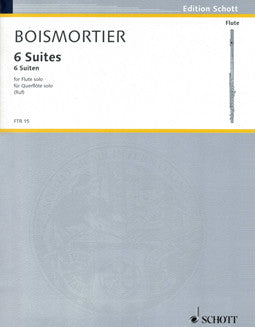 Boismortier, J. - 6 Suites - FLUTISTRY BOSTON