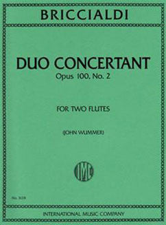 Briccialdi, G. - Duo Concertant Op. 100, No. 2