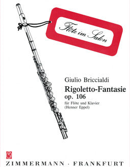 Briccialdi, G. - Rigoletto Fantasy - FLUTISTRY BOSTON
