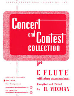 Concert & Contest Collection - Solo flute - FLUTISTRY BOSTON