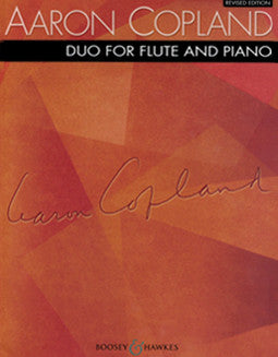 Copland, A. - Duo for Flute and Piano - FLUTISTRY BOSTON