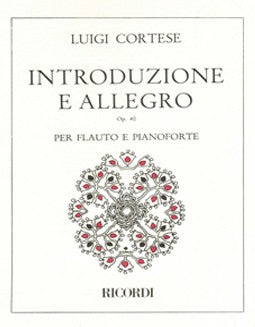 Cortese, L. - Introduzione e Allegro - FLUTISTRY BOSTON