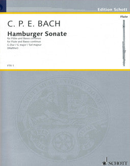 Bach, C.P.E. - Hamburger Sonata in G major - FLUTISTRY BOSTON
