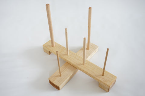 Wooden Flute Stand - Maple Wood