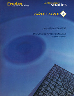 Damase, J. - 24 Etudes de Perfectionnement - FLUTISTRY BOSTON