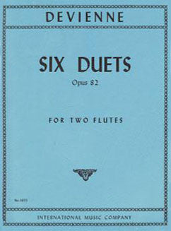 Devienne, F. - Six Duets, Op. 82 - FLUTISTRY BOSTON