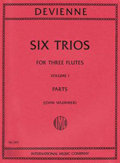 Devienne, F. - Six Trios: Vol. I - FLUTISTRY BOSTON