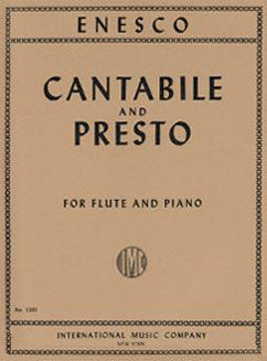 Enesco, G. - Cantabile and Presto