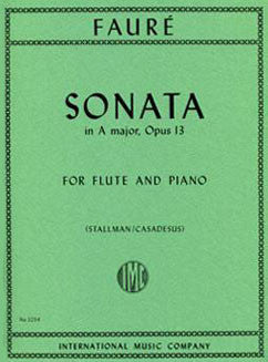 Faure, G. - Sonata in A major Op. 13