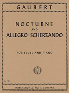 Gaubert, P. - Nocturne and Allegro Scherzando