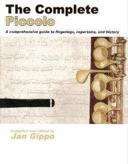 Gippo, J. - The Complete Piccolo - FLUTISTRY BOSTON