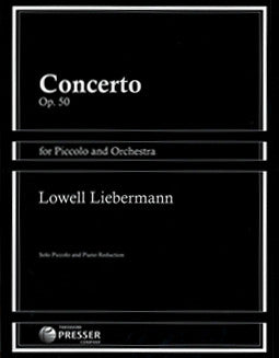 Liebermann, L. - Concerto, Op. 50 - FLUTISTRY BOSTON