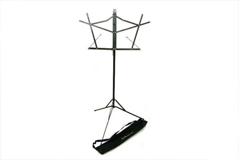 LoDuca Brothers - Folding Music Stand with Carrying Case - Black
