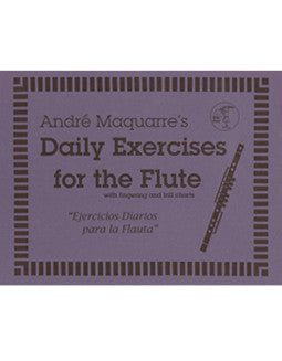 Maquarre, A. - Daily Exercises for the Flute - FLUTISTRY BOSTON