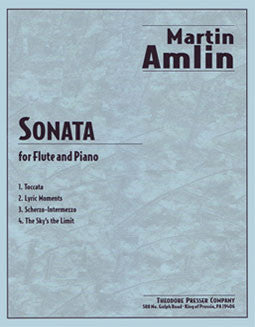Amlin, M. - Sonata - FLUTISTRY BOSTON