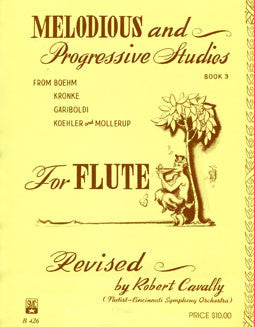Melodious & Progressive Studies - Book 3 - FLUTISTRY BOSTON