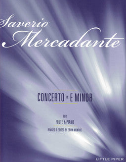 Mercadante, S. - Concerto in E minor