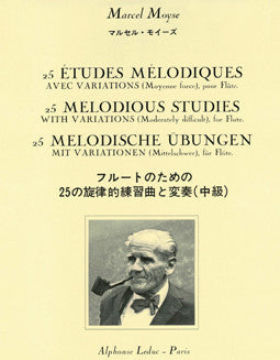 Moyse, M. - 25 Melodious Studies - FLUTISTRY BOSTON