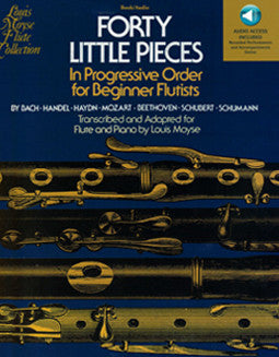 Forty Little Pieces with Audio