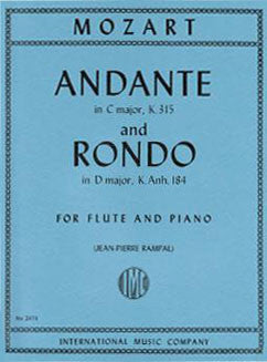 Mozart, W.A. - Andante in C major & Rondo in D major - FLUTISTRY BOSTON