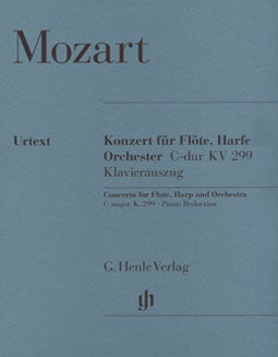 Mozart, W.A. - Concerto for flute & harp in C major