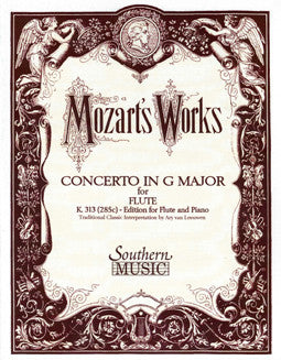 Mozart, W.A. - Concerto in G Major - FLUTISTRY BOSTON