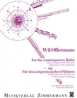Offermans, W. - For the Contemporary Flutist - FLUTISTRY BOSTON