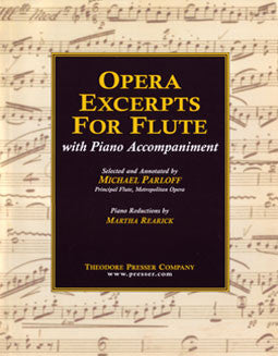 Opera Excerpts For Flute - FLUTISTRY BOSTON